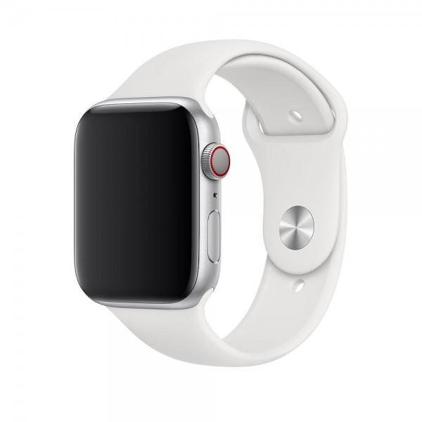 "Apple Sportarmband""Weiß 42/44 mm"