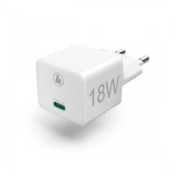 Hama Mini-Ladegerät USB-C 18W