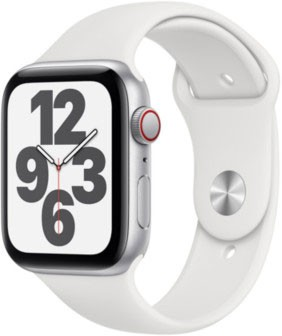 Apple Watch SELTE Silber 44mm
