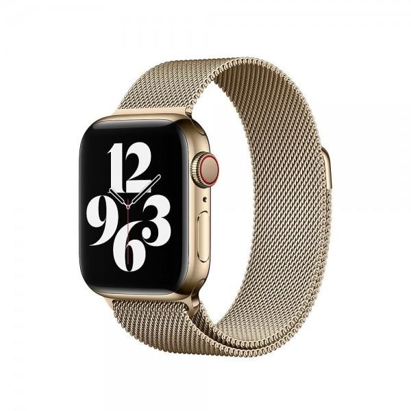 "Apple Milanaise Armband""Gold 40 mm"