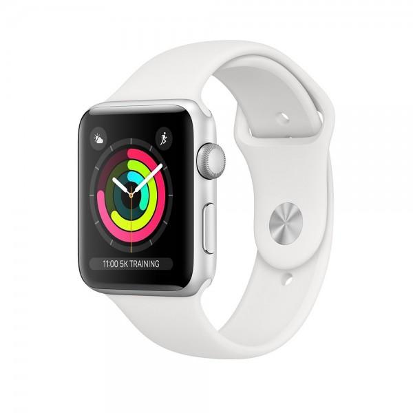 "Apple Watch Series 3 GPS, Aluminium/Silber""42 mm GPS"