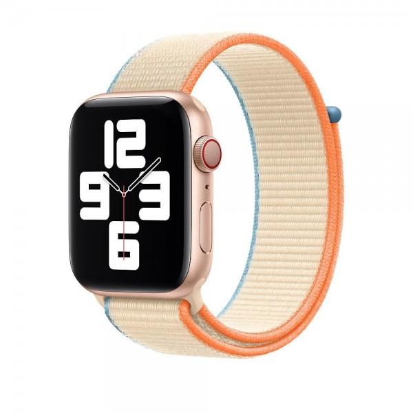 """Apple Sport Loop""""Creme 44 mm"""