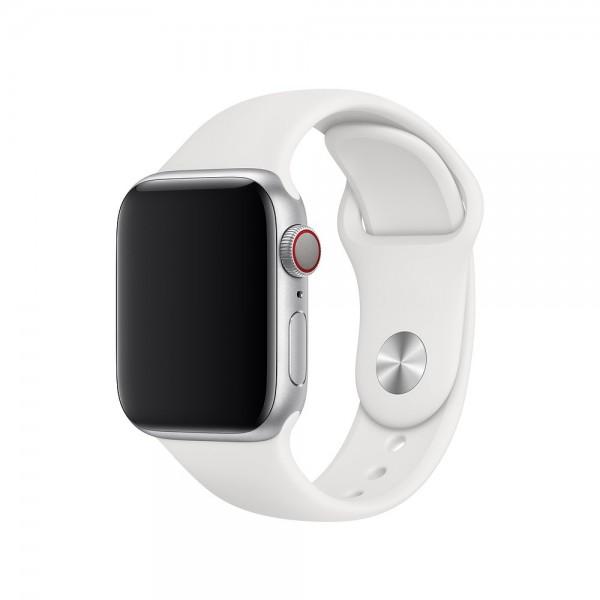 "Apple Sportarmband""Weiß 38/40 mm"
