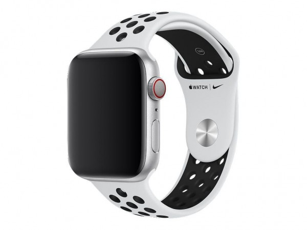 "Apple Nike Sportarmband""Pure Platinum/Schwarz 44 mm"