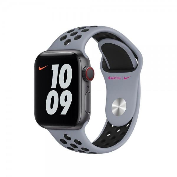 "Apple Nike Sportarmband""Obsidian Mist/Schwarz 40 mm"