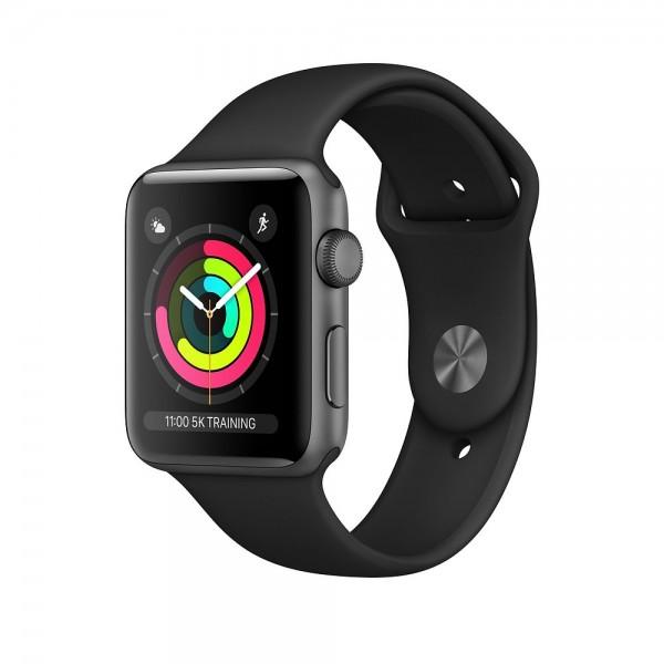 "Apple Watch Series 3 Aluminium Space Grau""38 mm GPS"