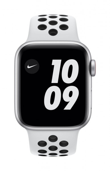 "Apple Watch Nike Series 6 Aluminium Silber""40 mm GPS"