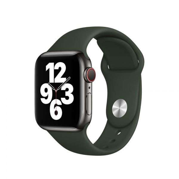 "Apple Sportarmband""Zyperngrün 38/40 mm"