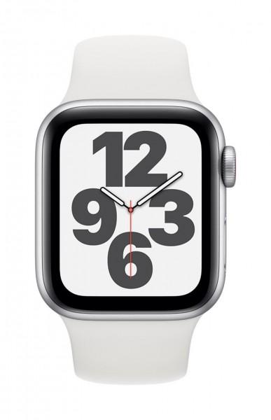 "Apple Watch SE Aluminium Silber""40 mm GPS + Cellular"