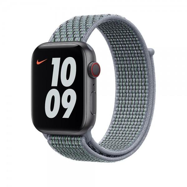 "Apple Nike Sport Loop""Obsidian Mist 44 mm"
