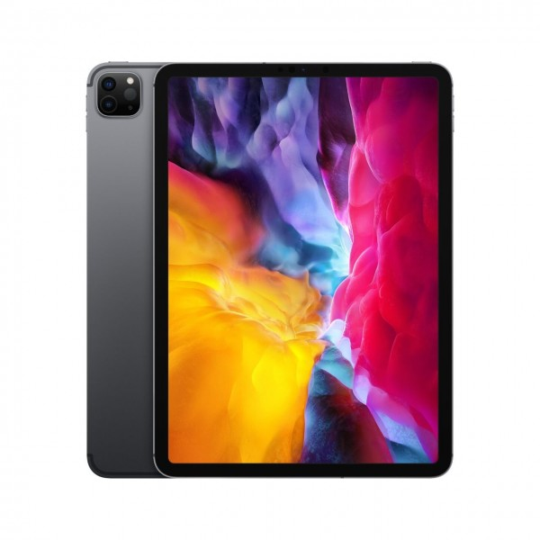 "Apple iPad Pro 11"" (2. Generation)""Space Grau 128 GB Wi-Fi + Cellular"