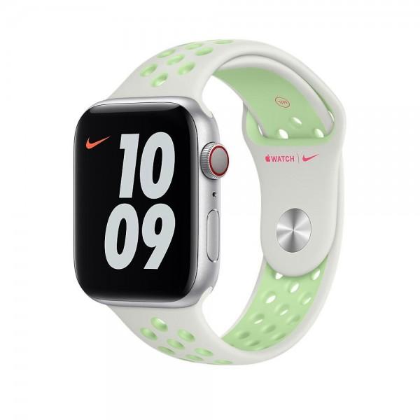 "Apple Nike Sportarmband""Spruce Aura/Vapor Green 44 mm"