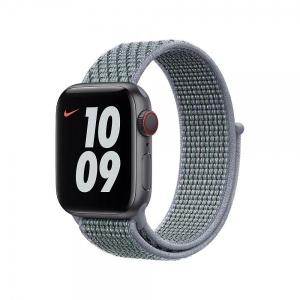 "Apple Nike Sport Loop""Obsidian Mist 40 mm"