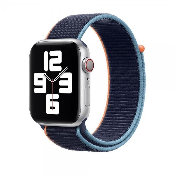 "Apple Sport Loop""Dunkelmarine 44 mm"