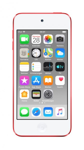 """Apple iPod Touch 7G""""Rot ((PRODUCT)RED) 256GB"""