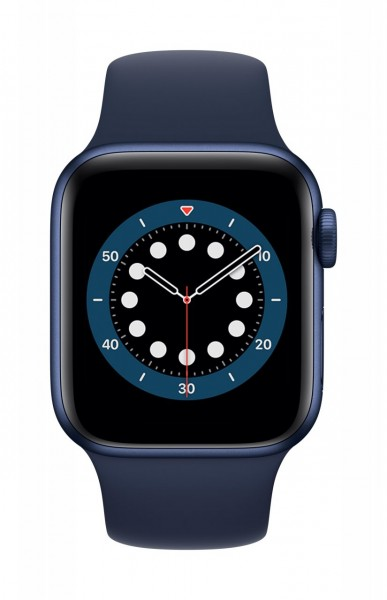 "Apple Watch Series 6 Aluminium Blau""40 mm GPS + Cellular"