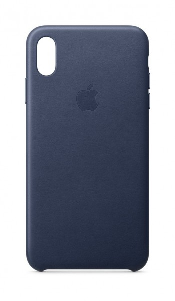 "Apple iPhone XS Max Leder Case""Mitternachtsblau"