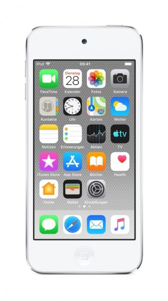 """Apple iPod Touch 7G""""Silber 128GB"""