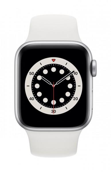 """Apple Watch Series 6 Aluminium Silber""""40 mm GPS + Cellular"""