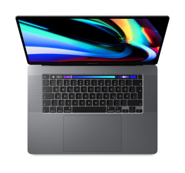 "Apple MacBook Pro 16""""2,3GHz 8-Core Intel Core i9 (9. Gen.) 16GB Radeon Pro 5500M (4GB) 1TB SSD Deut"