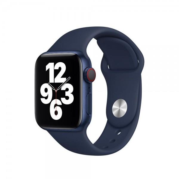 "Apple Sportarmband""Dunkelmarine 38/40 mm"