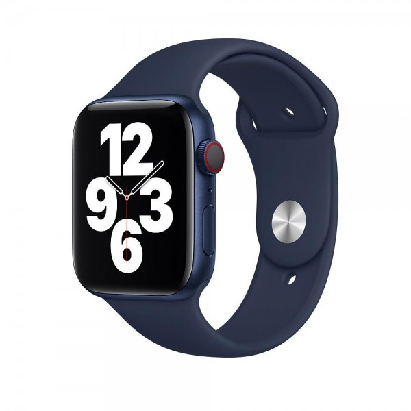 "Apple Sportarmband""Dunkelmarine 42/44 mm"
