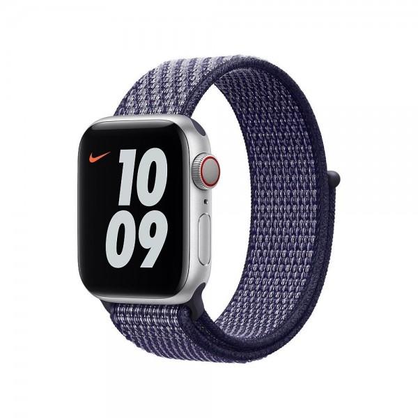 "Apple Nike Sport Loop""Purple Pulse 40 mm"