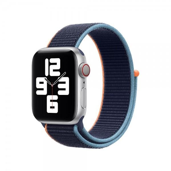 "Apple Sport Loop""Dunkelmarine 40 mm"