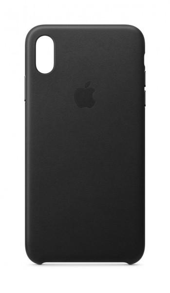 "Apple iPhone XS Max Leder Case""Schwarz"