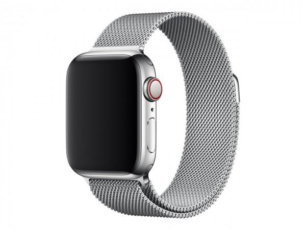"Apple Milanaise Armband""Silber 40 mm"